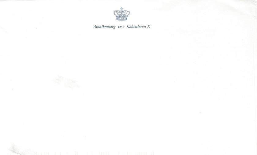 Denmark Envelope