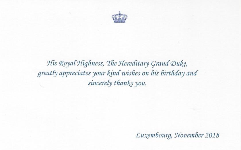 Hereditay Grand Duke