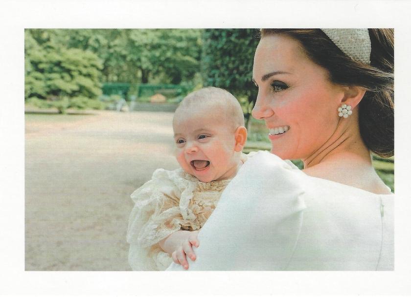 Prince Louis Baptism pic