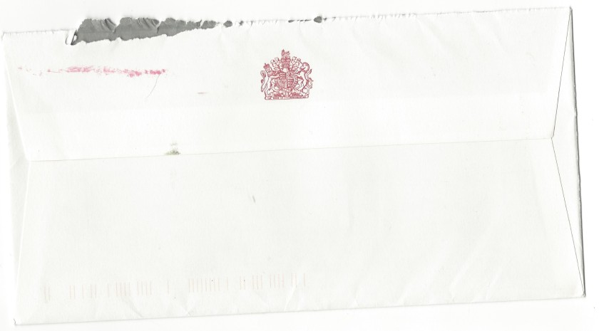 Queen 71 Envelope