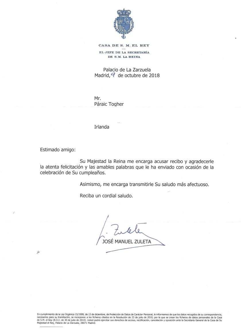Queen L Letter_LI Letizia of Spain