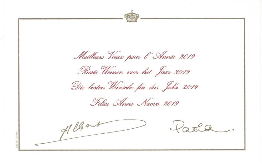 Albert II and Paola