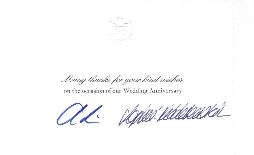 wedding annivesary alois