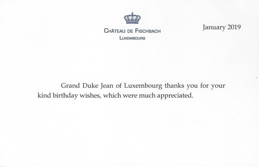 Grand Duke Jean