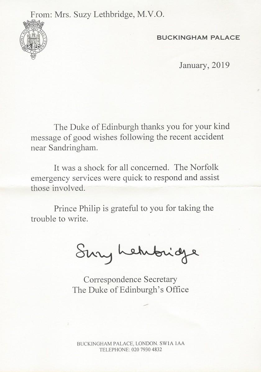 Phillip accident letter