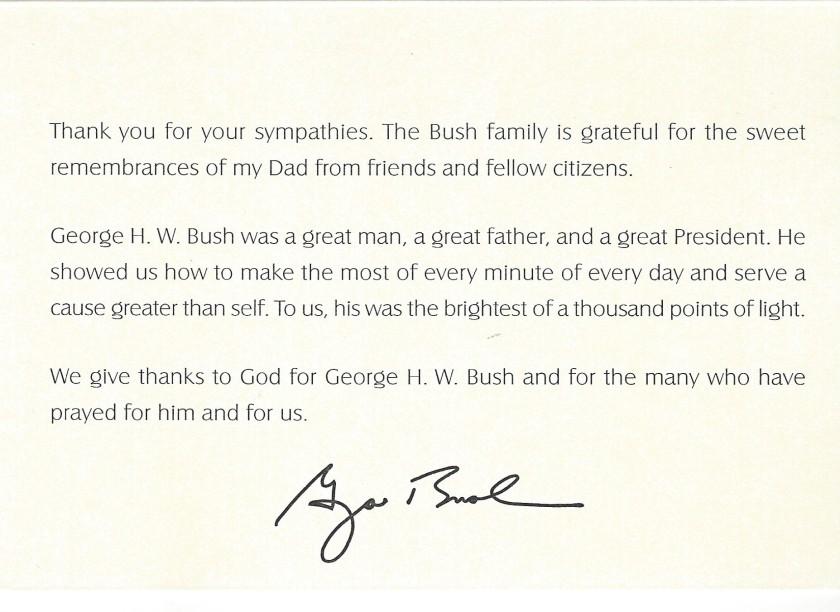 George H.W Bush 2