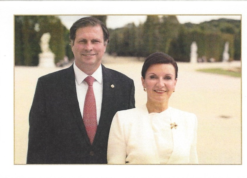Herta Margarete & Sandor Card Picture