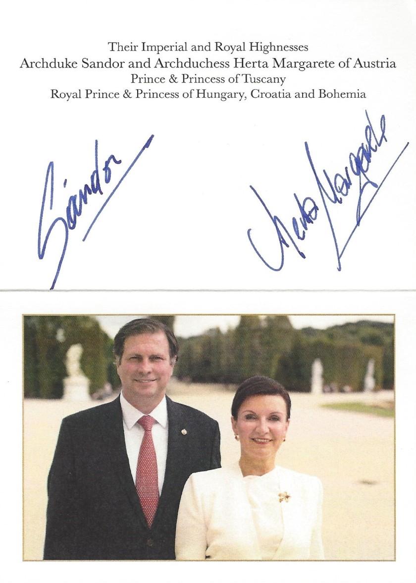 Herta Margarete & Sandor Card