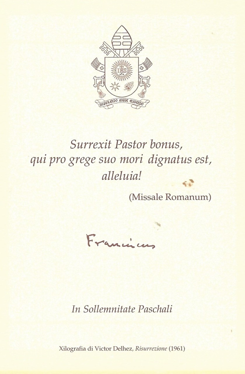 Easter Prayer Card Reverse