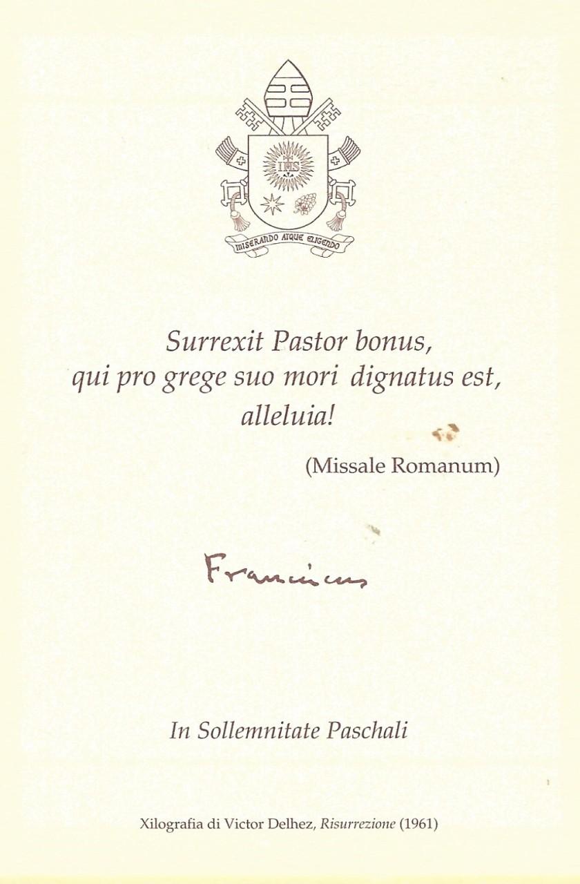 Easter Prayer Card Reverse