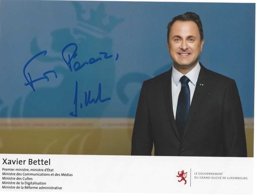Luxembourg Prime Minister