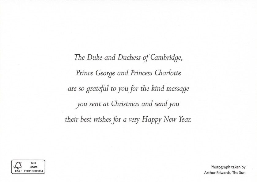 Cambridge Christmas Message