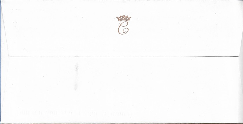 Duchess of Cambridge Monogram Envelope