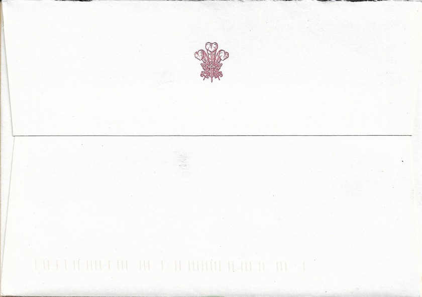 Wales Christmas Envelope