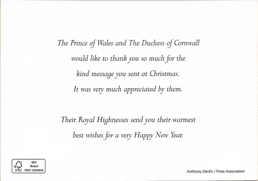 Wales Christmas Message