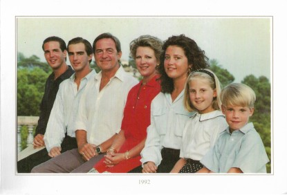 1992 Christmas card right
