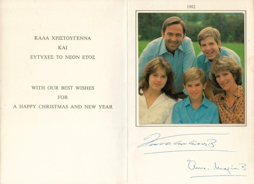 Christmas Card 1982