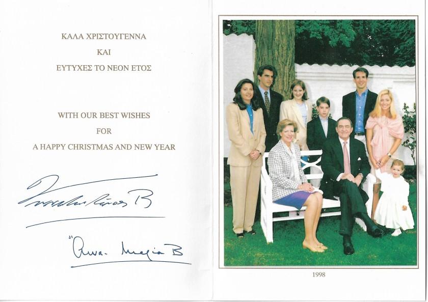 Christmas Card 1998