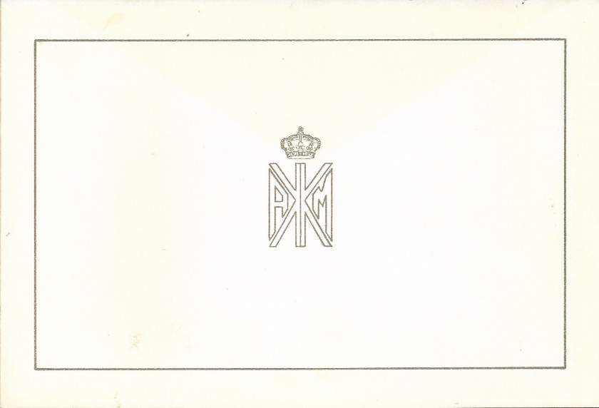Christmas Card Front 1985