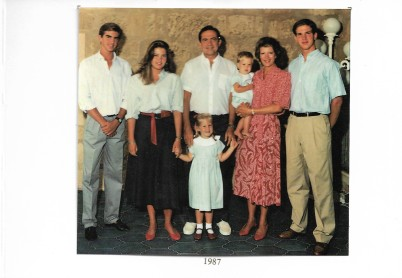Christmas Card Right 1987