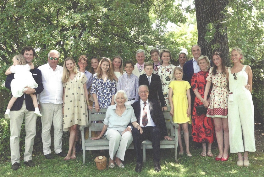 Belgian Royal family Photo Belgium 60th Wedding Anniversary