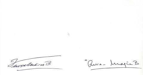 2017 signatures