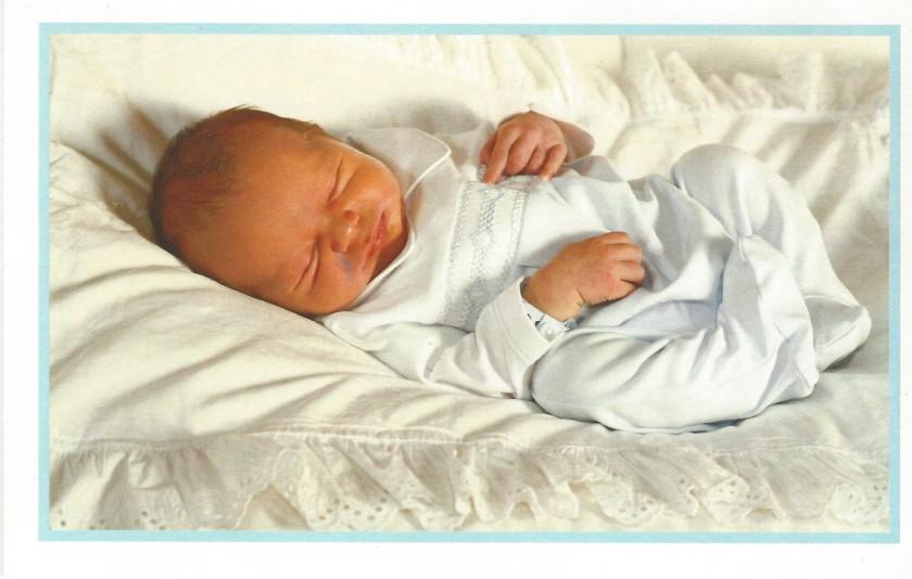 Baby Card Front Isenburg