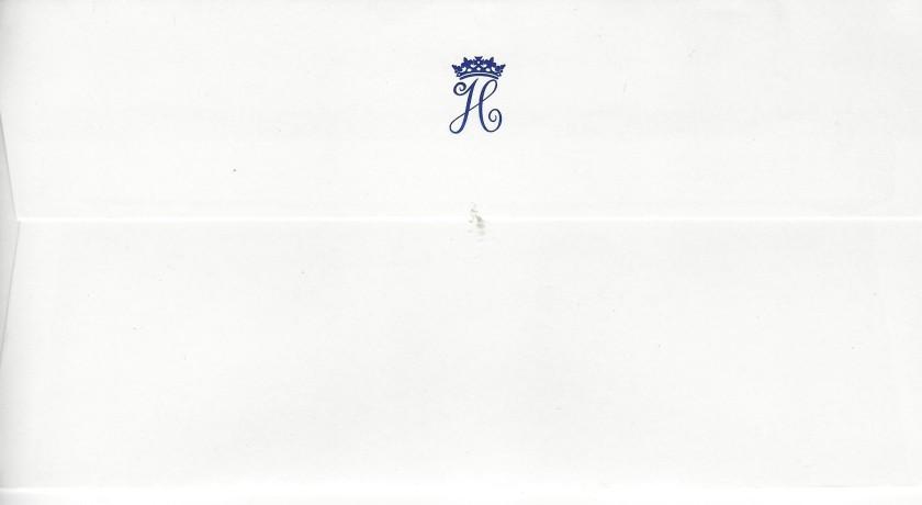 Harry Christmas 2014 Envelope