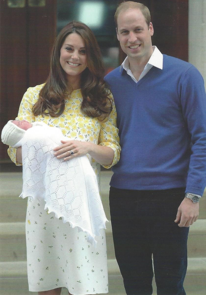 Princess Charlotte Birth