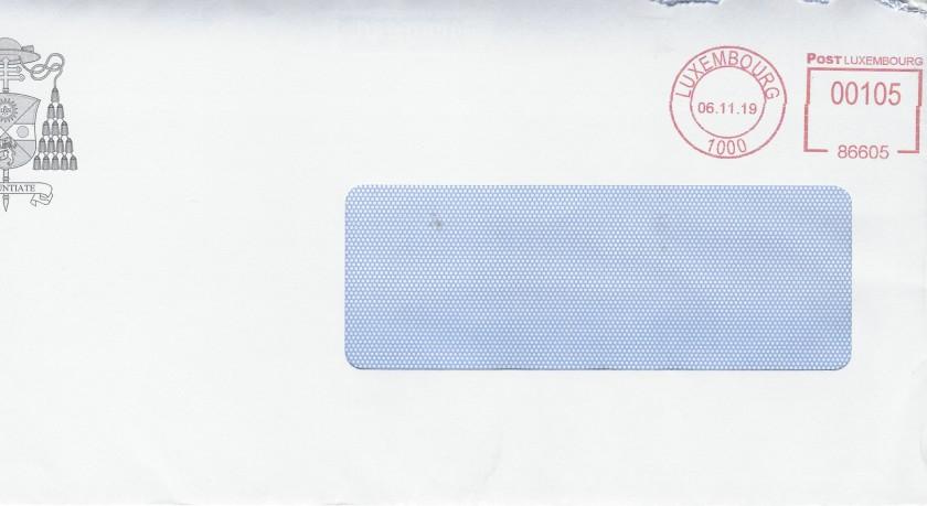 Cardinal Hollerich Envelope Front