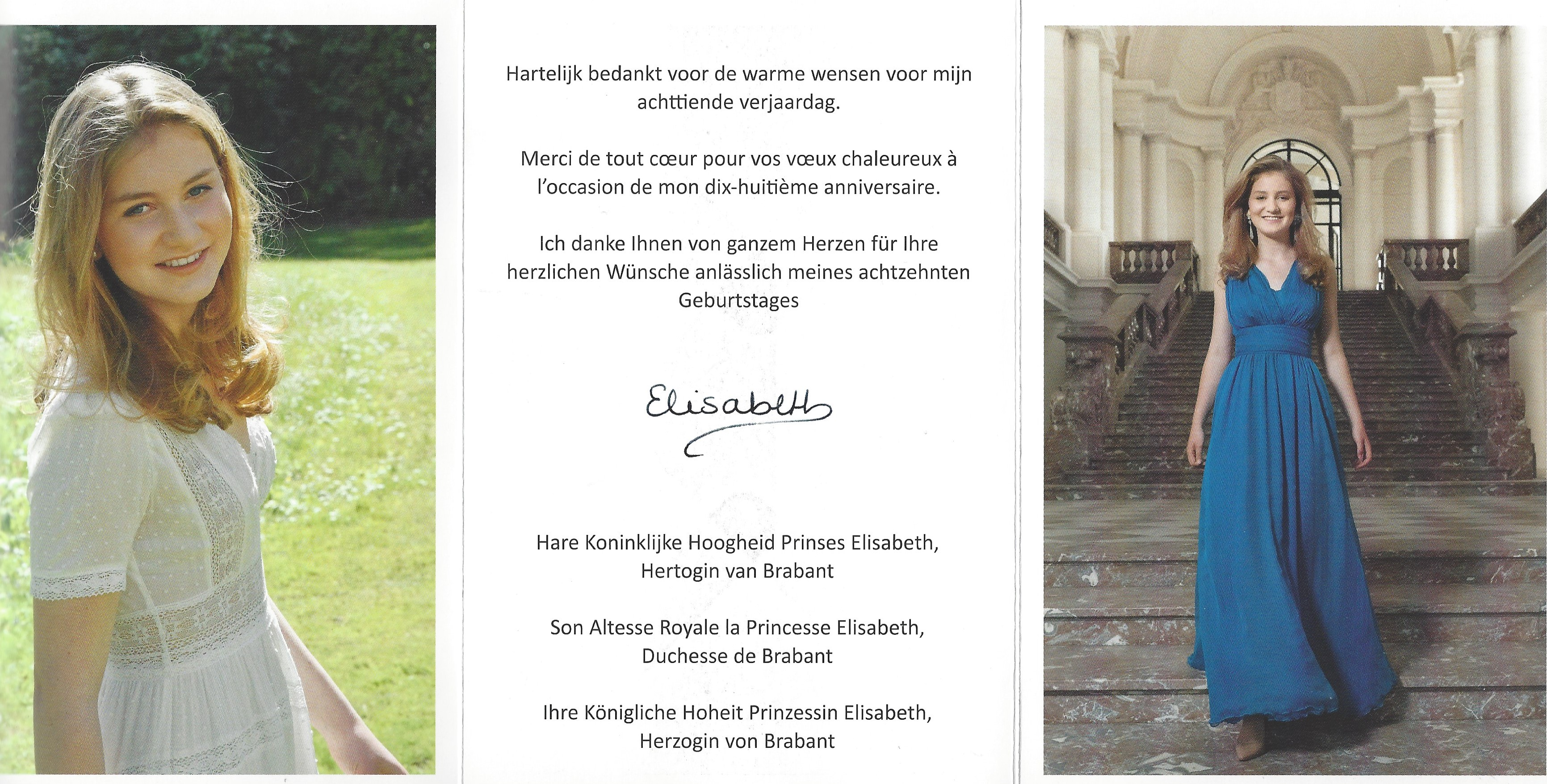 Duchess of Brabant Card