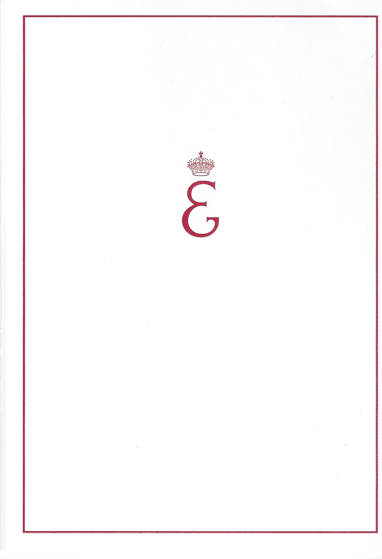 Duchess of Brabant Front of Card