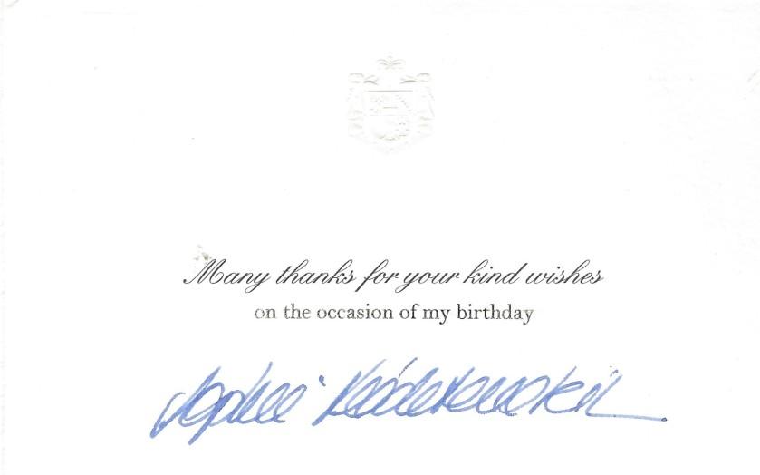Princess Sophie Birthday