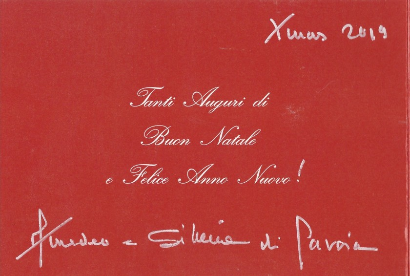 Aosta Christmas Card Message 2