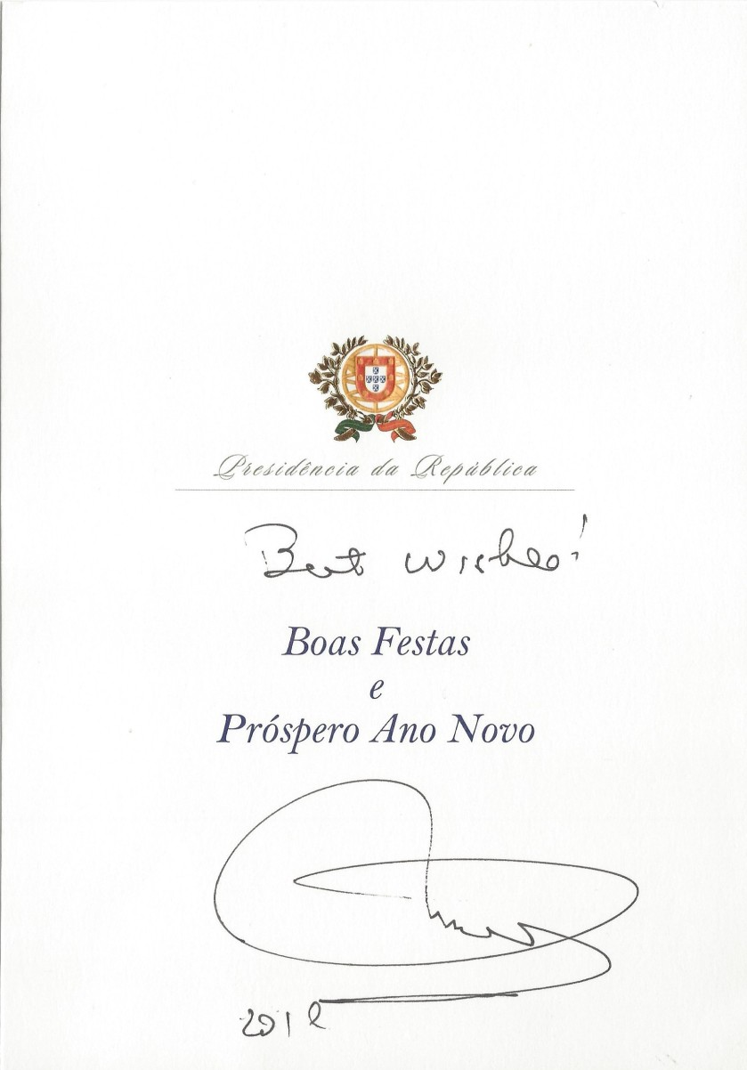 President of Portugal Christmas Card Message