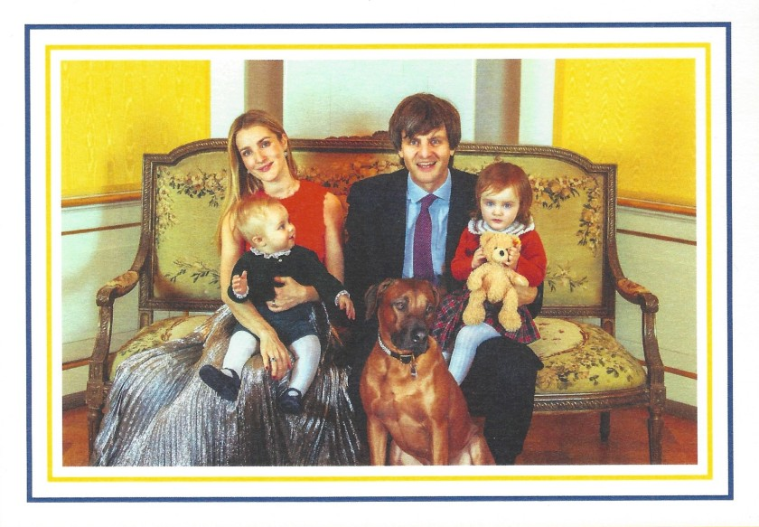 Christmas Card front Hanover