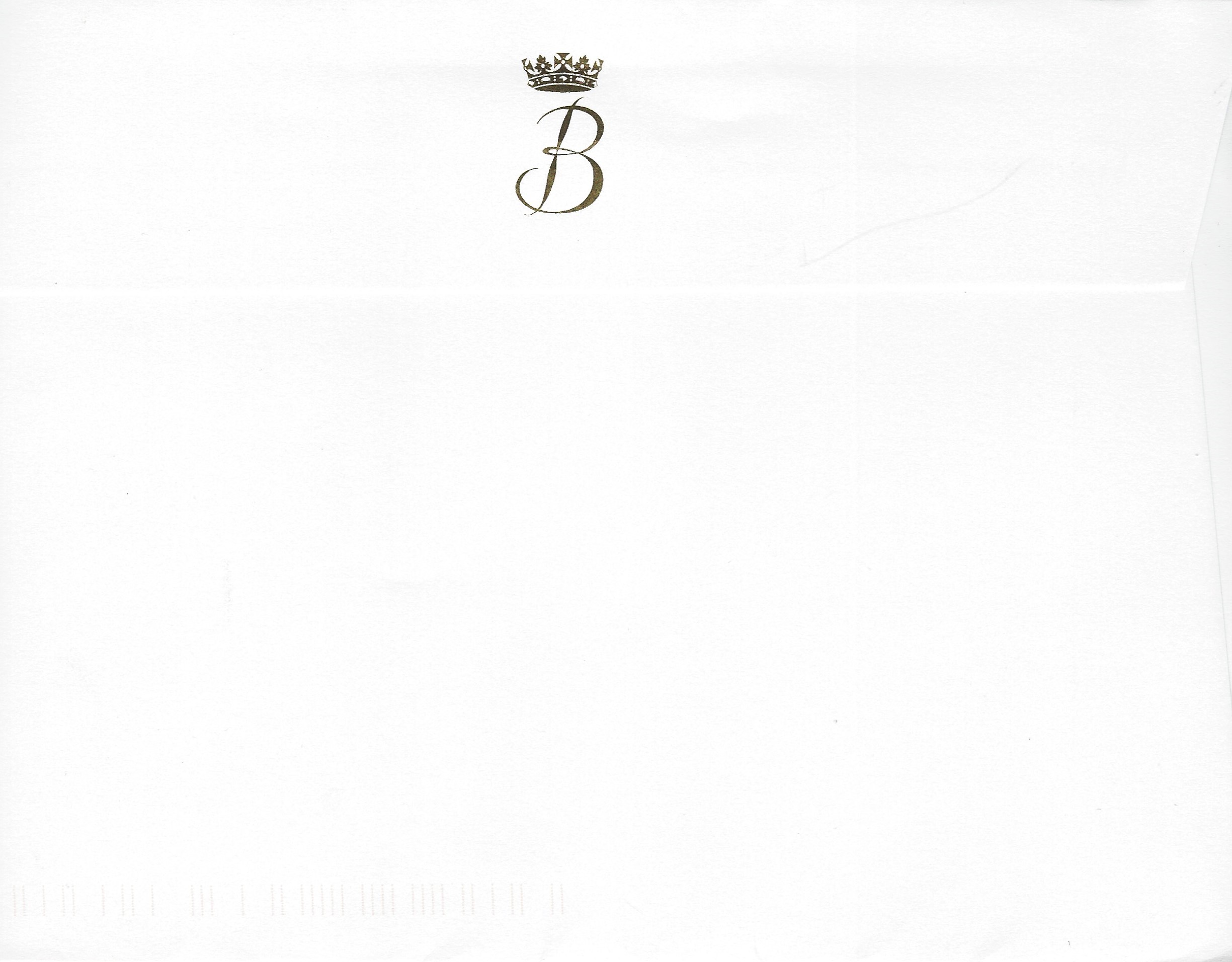 Princess Beatrice Engagement Envelope
