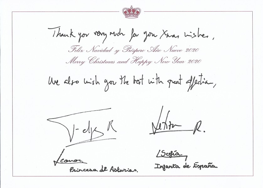 Spain Christmas Message