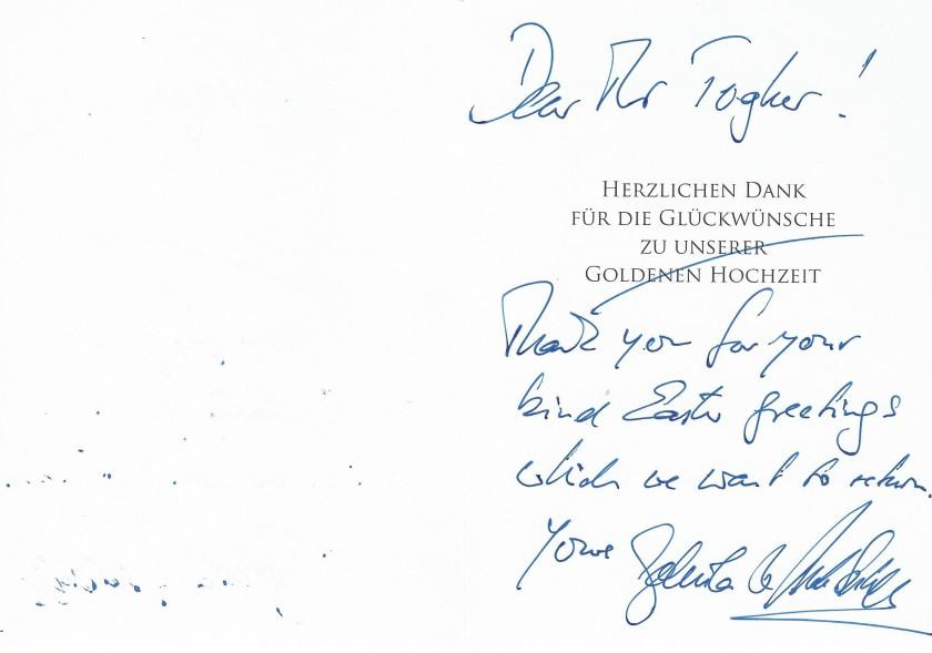 Alexander and Gabriela Easter Card Message