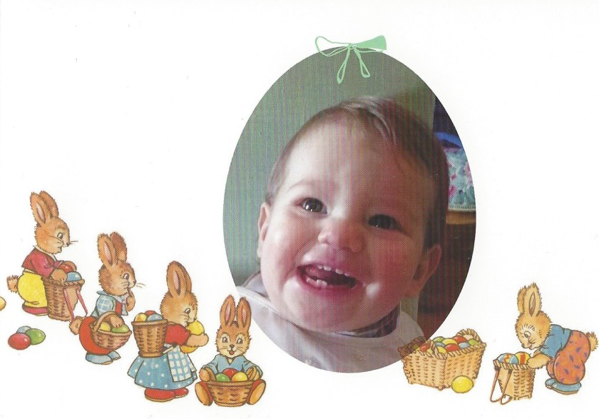 Easter Card Baby Joesph