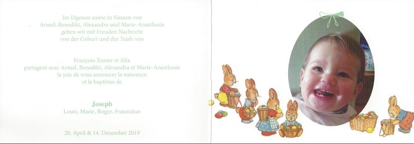 Easter Card Inside