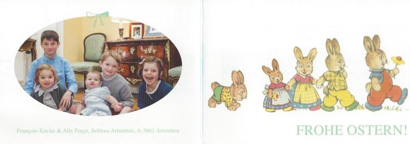 Easter Card Outside