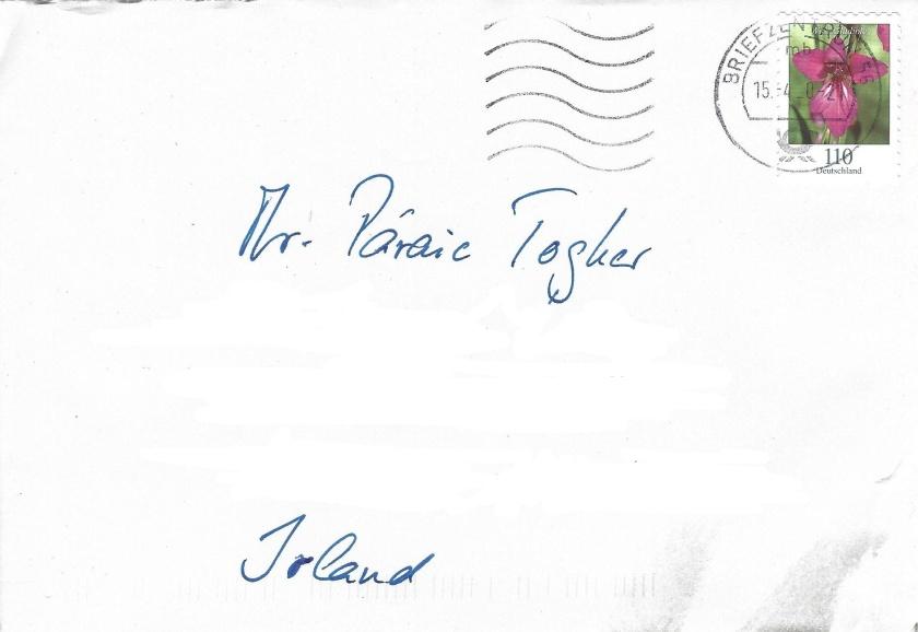 Envelope Inked