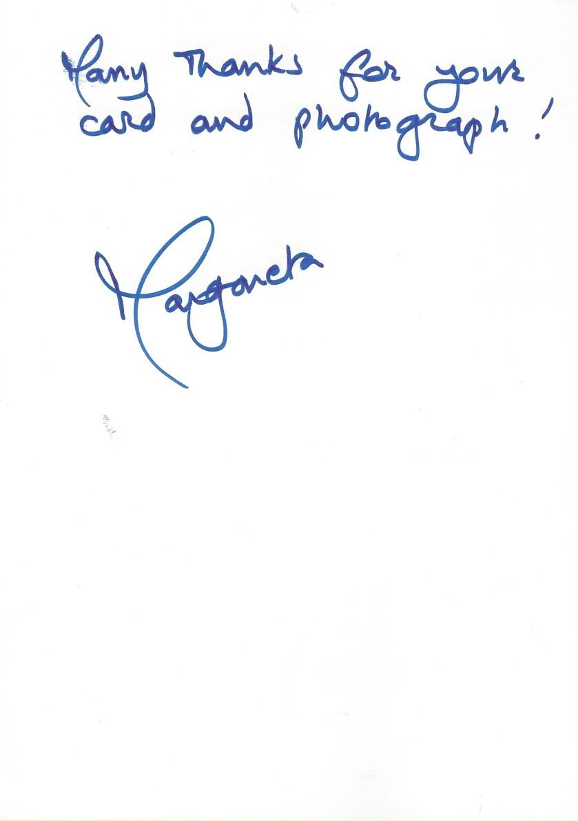 Margareta Birthday Message