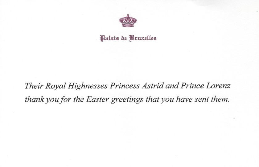 Princess Astrid and Prince Lorenz Easter