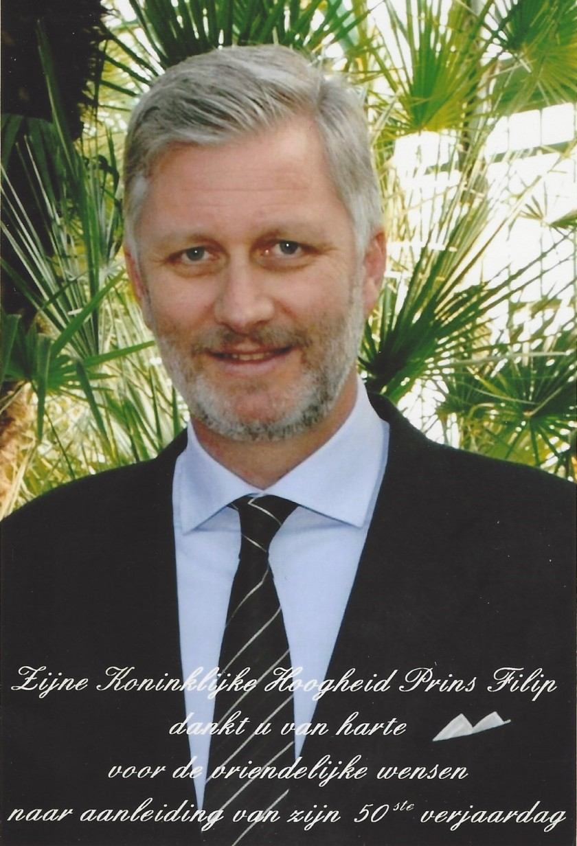 Philippe, The King of The Belgians 50th Birthday