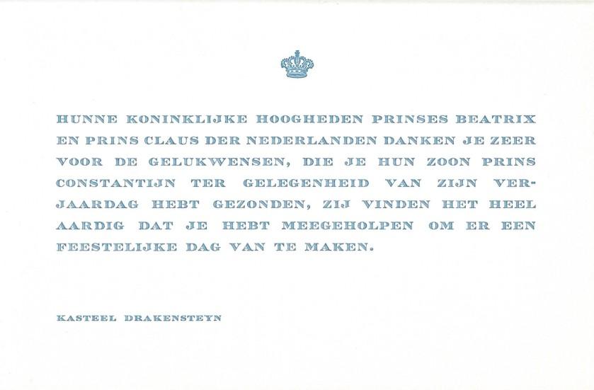 Prince Constantijn