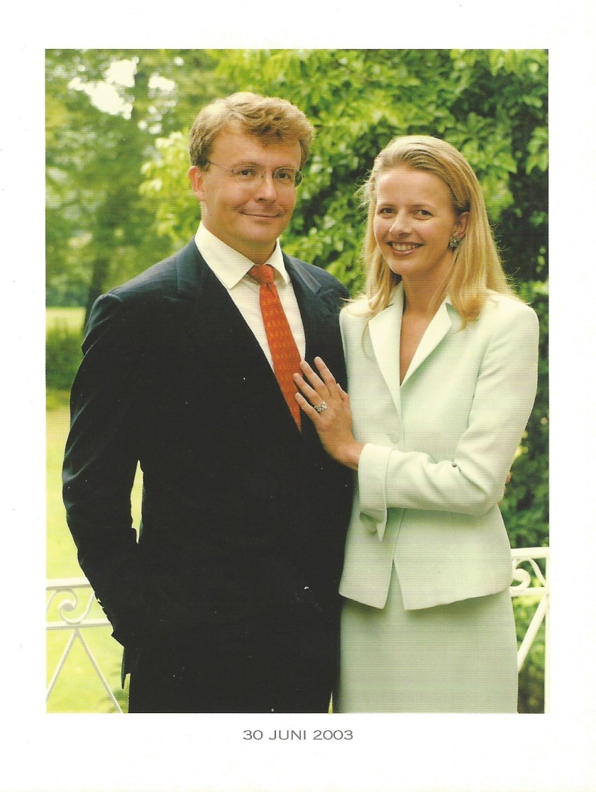 Prince Friso and Princess Mabel Engagement Picture