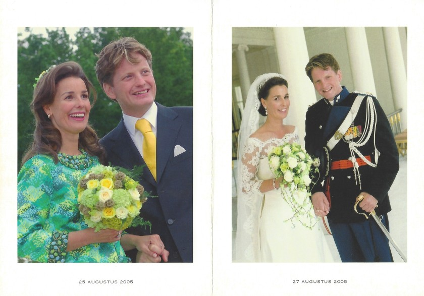 Wedding of Pieter-Christian and Princess Anita Pictures