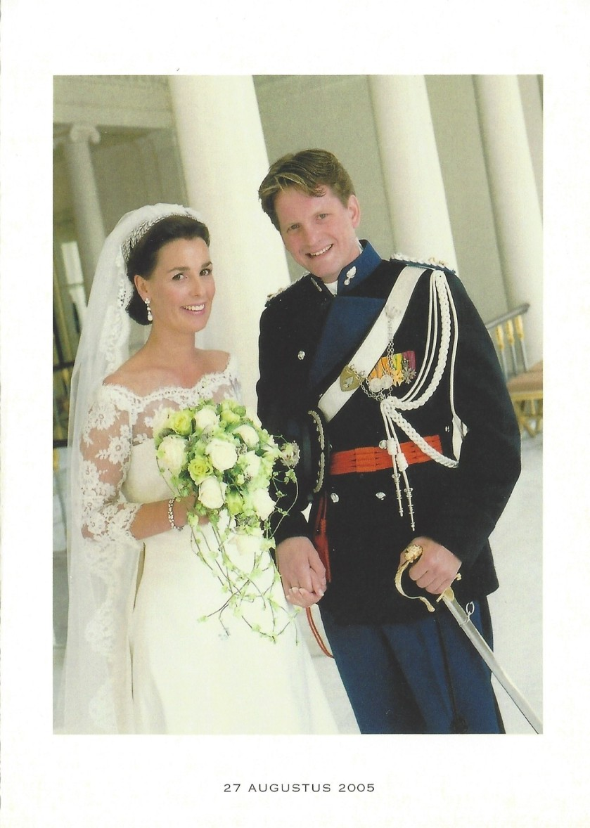 Wedding of Pieter-Christian and Princess Anita Religious Wedding Picture